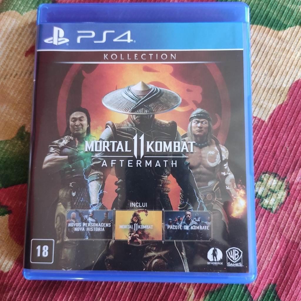 mortal kombat 11 aftermath ps4 fisico