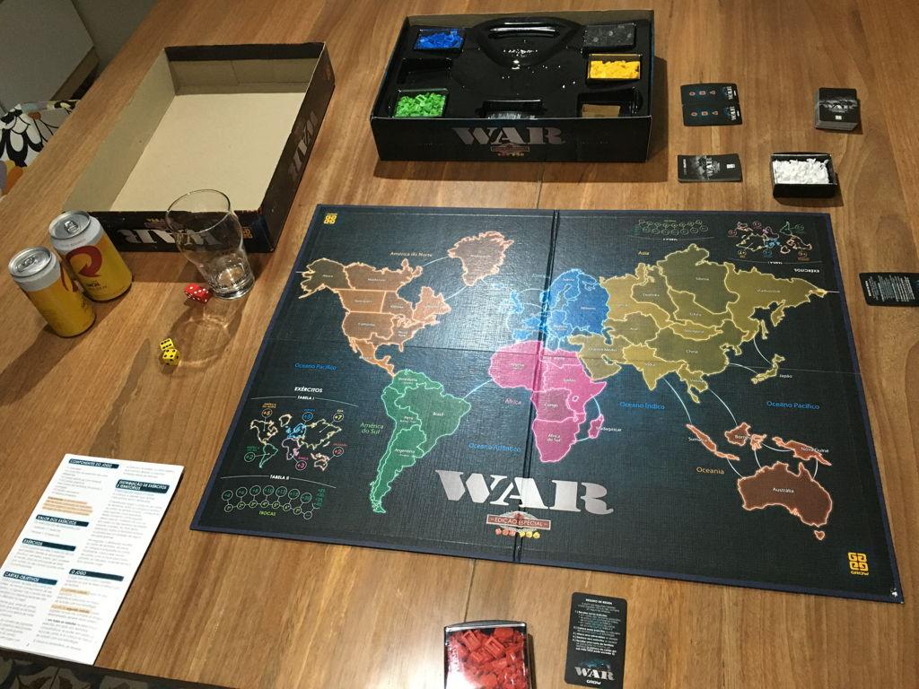 Jogo War Grow Edicao Especial 01253 Estrategia Casas Bahia 145162